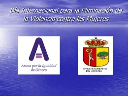 """""""Este establecimiento dice NO a la Violencia de Género"""" [ppt 397.0"""