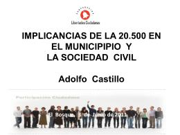 proyecto de ley sobre asociaciones y participación ciudadana