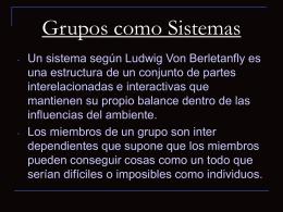 GruposcomoSistemas