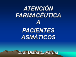 Asma . At. Farmaceutica 1