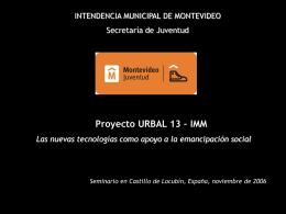 El proyecto en marcha - Centro de Documentación del Programa