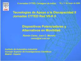 Archivo - Centro de Automática y Robótica