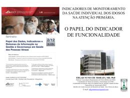 FRAGILIDADE - ICICT | Fiocruz
