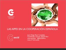 Visión AECID: Alianza Público-Privada para el Desarrollo