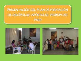 Presentación DEL Plan de Formación de Discípulos
