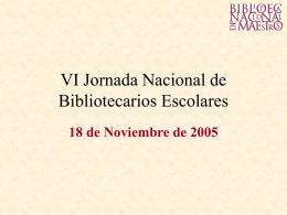 Ver presentación - Biblioteca Nacional de Maestros