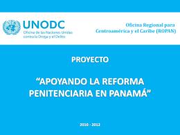 UNODC - Bienvenido a la Dirección General del Sistema
