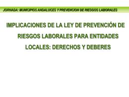 La Gestión de PRL - Melilla Prevención