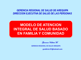 MODELO ATENCION INTEGRAL BFC