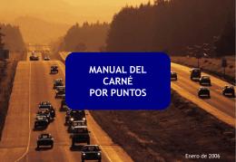 Manual Carnet por puntos