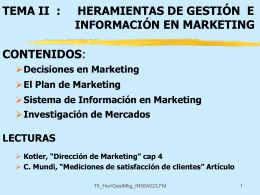 111 INVESTIGACION DE MERCADOS PEPE MARKETING