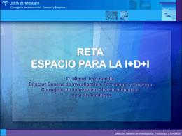 RETA.ESPACIO PARA LA I+D+I ( Jornada