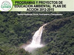 Presentación Plan de Acción Corporativo y componente