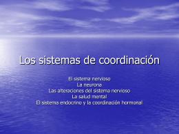 Los sistemas de coordinación