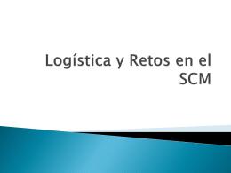 Logística y Retos en el SCM