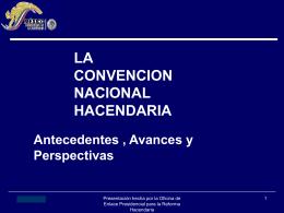 CONVENCION NACIONAL HACENDARIA Consejo Directivo