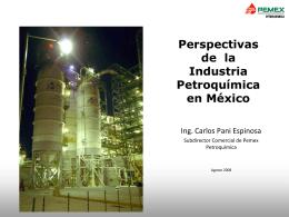 Perspectivas de la Industria Petroquímica en México