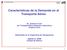 Modelos Econométricos - Air Transportation Systems Lab