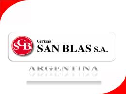 Diapositiva 1 - Gruas San Blas