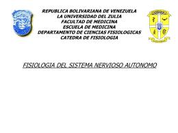3. Fisiologia del Sistema Nervioso Autonomo (994304)