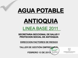 linea base agua de consumo humano (12-02