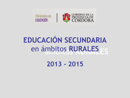 SÍNTESIS DE LÍNEAS DE ACCIÓN - Igualdad y Calidad Educativa