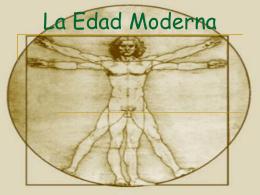 Edad Moderna Contexto Humanismo Renacimiento Ciencia y arte