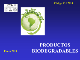 PRODUCTOS BIODEGRADABLES - AURA-O
