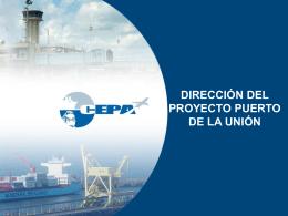 fases de desarrollo - Puerto La Unión, El Salvador, Centro America