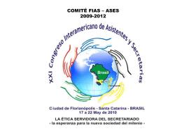 COMITÉ FIAS – ASES XXI CONGRESO
