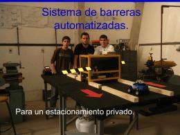 BARRERAS AUTOMATIZADAS 3