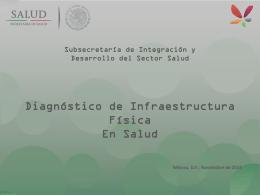 6. Diagnóstico de Infraestructura Física en Salud