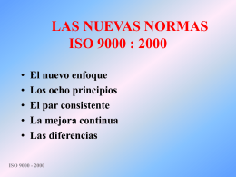 ISO 9000 - 2000