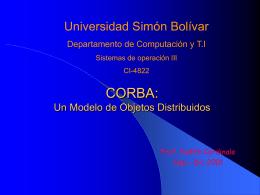 ORB - LDC - Universidad Simón Bolívar
