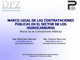 Nueva Ley de Contrataciones Públicas