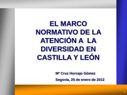 ATENCIÓN DIVERSIDAD María Cruz Horcajo