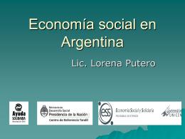 Economia social en Argentina