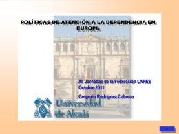 Ponencia de D. Gregorio Rodríguez Cabrero