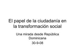 Presentación de Mario Serrano SJ