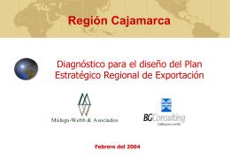 CAJAMARCA - Comercio internacional