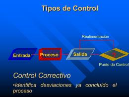 descripción del control