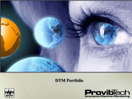 DTM Portfolio