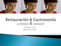 Restauración y Gastronomía.