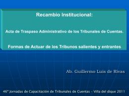 Recambio Institucional