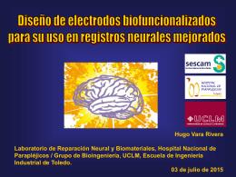 Diseño de electrodos biofuncionalizados para su uso en registros