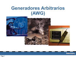 Generadores Arbitrarios: Aplicaciones en Educación
