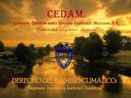 La Naturaleza Jurídica del Derecho de Proteeción al Ambiente