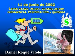 NUEVO REGIMEN DE QUIEBRAS 25.589