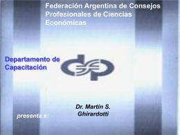 Metodo del Impuesto Diferido - Consejo Profesional de Ciencias