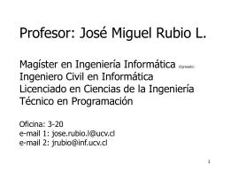 Proceso - Escuela de Ingeniería Informática